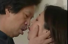 Japanese Deep French Kissing