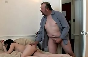 Unwitting Fat Guy Stodgy a Nice Handjob