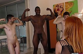 Horny HotWife Edyn Blair Gets Fucked By BBC In Front Of Her Cuckolduckold