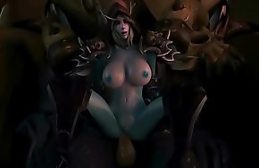 FapZone // Sylvanas (World of Warcraft)