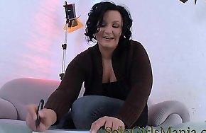 german milf masturbating pierced pussy
