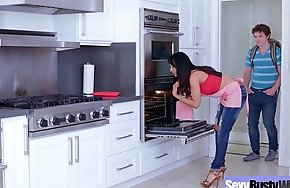 (Isis Love) Round Big Tits Mommy Enjoy Hard Coition movie-21