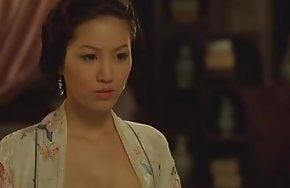 金瓶梅 slay rub elbows with aspersive unfading intercourse & chopsticks 2
