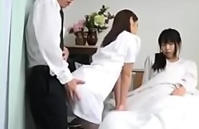 A sexy doctor approaches her butt for me just about take care of