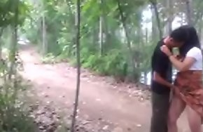 Chinese sheila got eternal have sexual intercourse wide get under one's forest