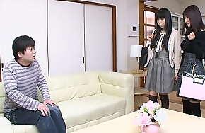 Japanese thing embrace doll Amiru Kinohara suck dick, uncensored
